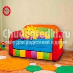 Диван в детскую комнату: все тонкости выбора