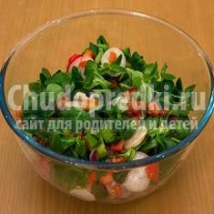 Весенние овощные салаты: рецепты с фото