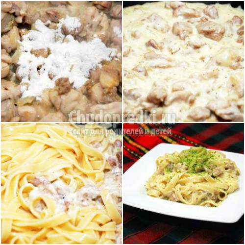 Курица в сливочном соусе: готовим вкусно и полезно