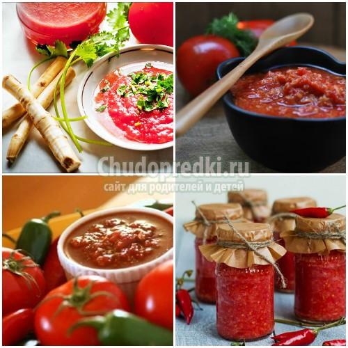 Аджика из помидор без чеснока на зиму: популярные рецепты с фото