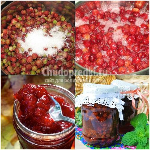 Варенье из земляники: популярные рецепты с фото