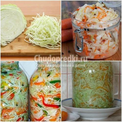 Засолка капусты в рассоле: лучшие рецепты с фото
