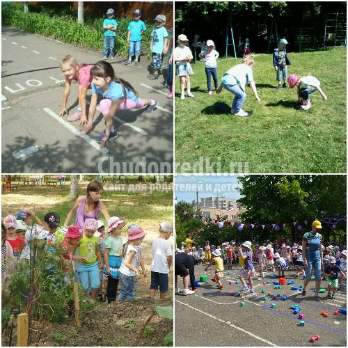 Подвижные игры для детей в детском саду. Выбираем лучшие. ТОП-10 игр!
