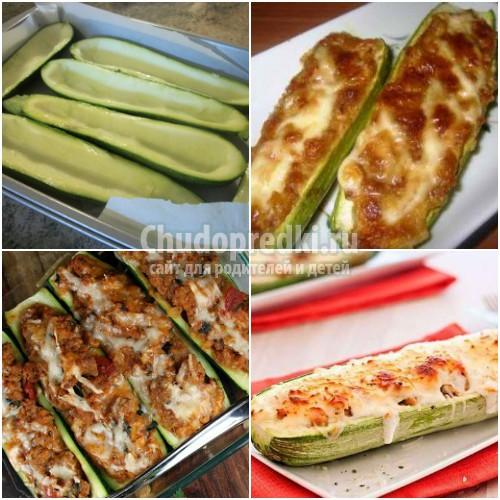 Кабачки, запеченные в духовке: пошаговые рецепты с фото