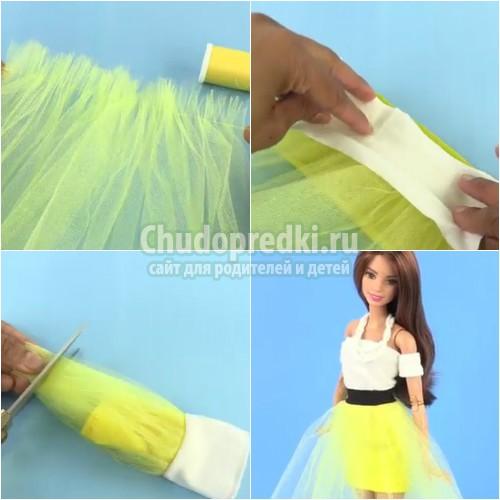 Как сшить платья для куклы Барби своими руками: пошаговые мастер-классы с фото