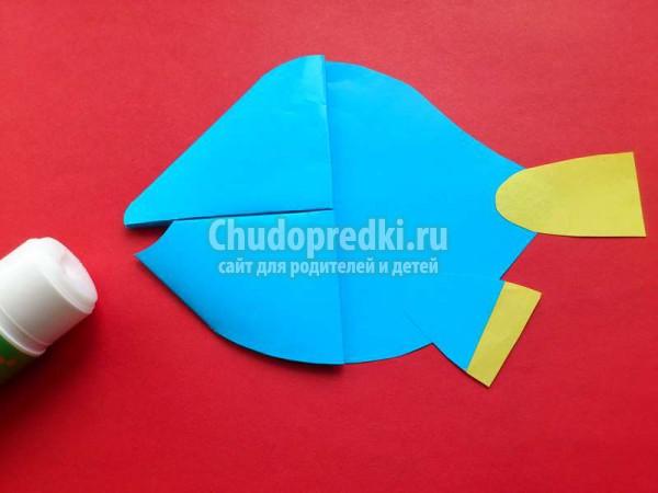 Закладка-уголок для книги рыбка Дори