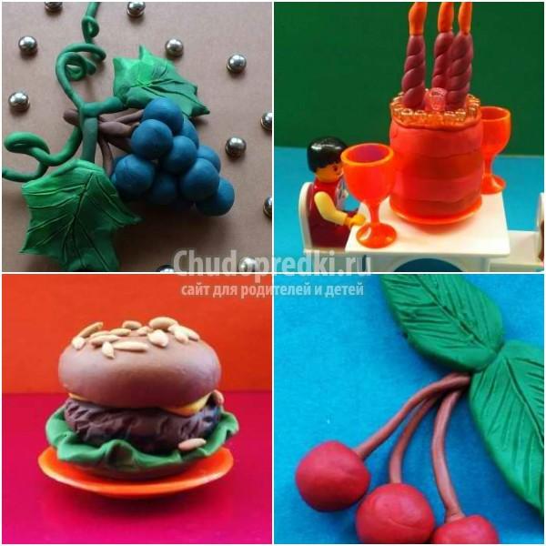 Как сделать еду для кукол из пластилина: пошаговые мастер-классы с фото
