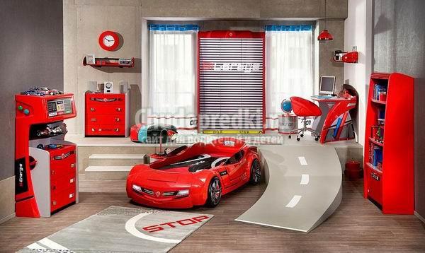 Детская кровать в виде машины: разновидности и правила выбора