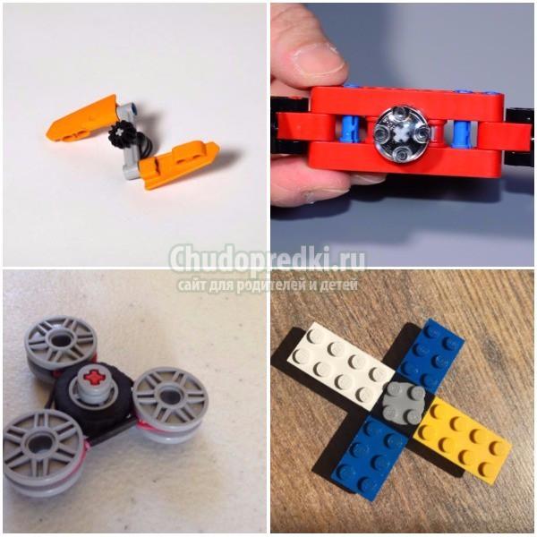 Как сделать спиннер из Лего: подробные мастер-классы с фото