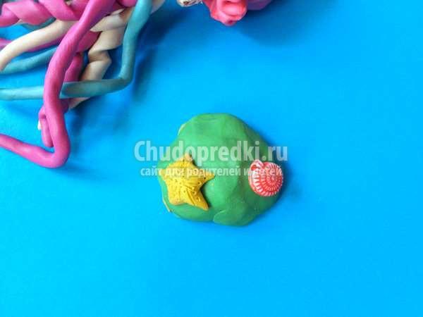 из пластилина: Медуза