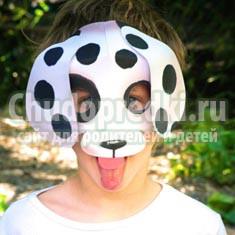 Новый год 2018 маски. Делаем маску собаки своими руками