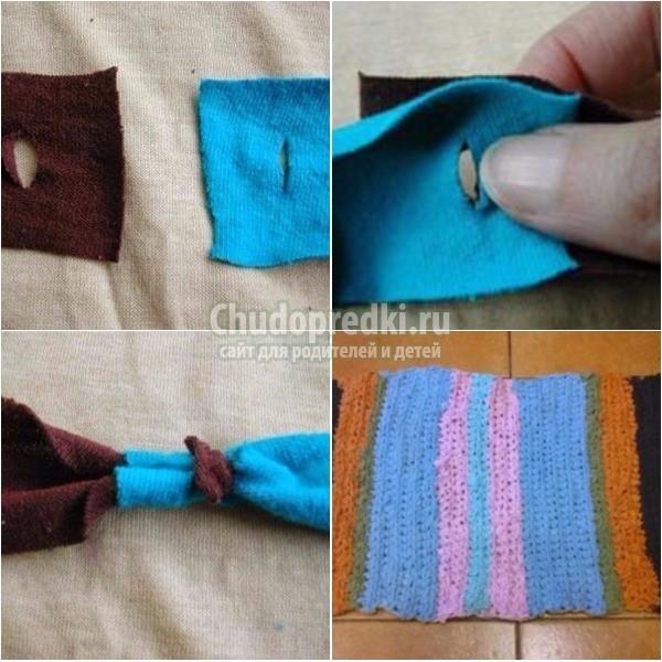 Вязаные коврики крючком: схемы и описание