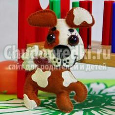 Собака своими руками  из ткани: выкройки и мастер-классы