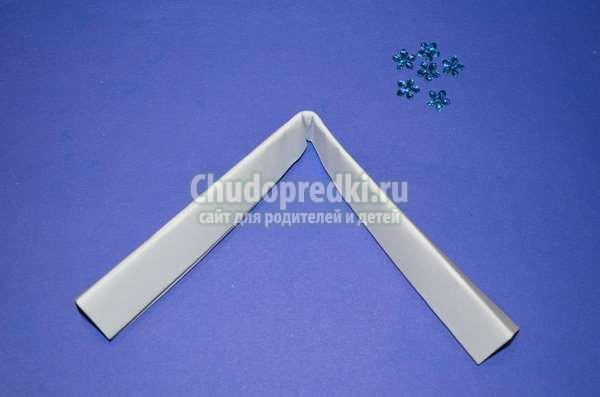 снежинка из гармошки: пошаговый мастер-класс