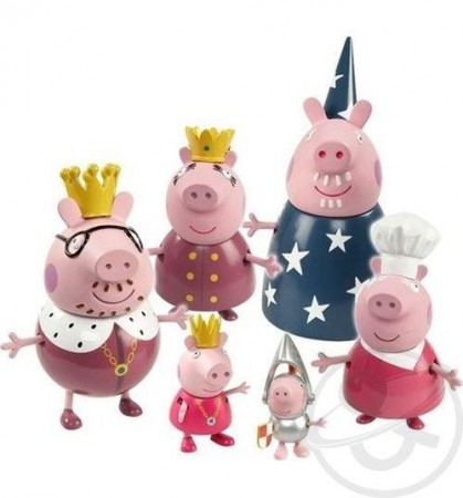 Игровые наборы с семейкой свинки Пеппы