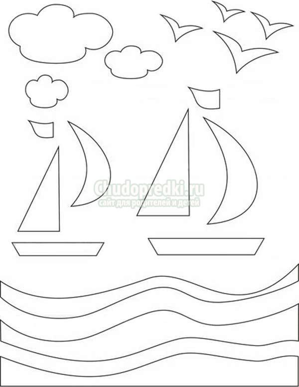 Картинки, корабль открытка к 23 февраля своими руками с шаблонами