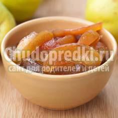 Варенье из айвы: вкусный рецепт