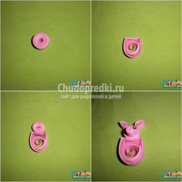 1523960674_3 Как сделать свинку своими руками? Поросенок