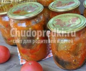 Салат баклажаны с перцем на зиму: золотые рецепты с фото