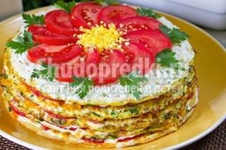 Рецепт очень вкусного торта из кабачков с пошаговыми фото