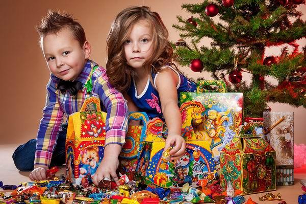 Вложения в сладкие новогодние подарки