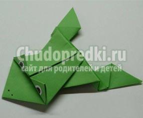 Как сделать прыгающую лягушку из бумаги? Пошаговые мастер-классы с фото