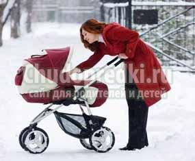 Детские коляски для зимы. Правила выбора