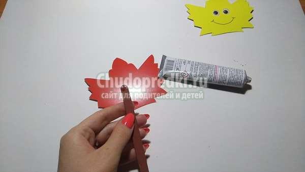 Осенняя поделка Кленовый лист