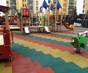 Каким должно быть покрытие на детской площадке открытого типа?