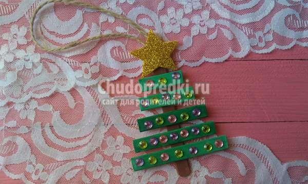 игрушка на елку Елочка
