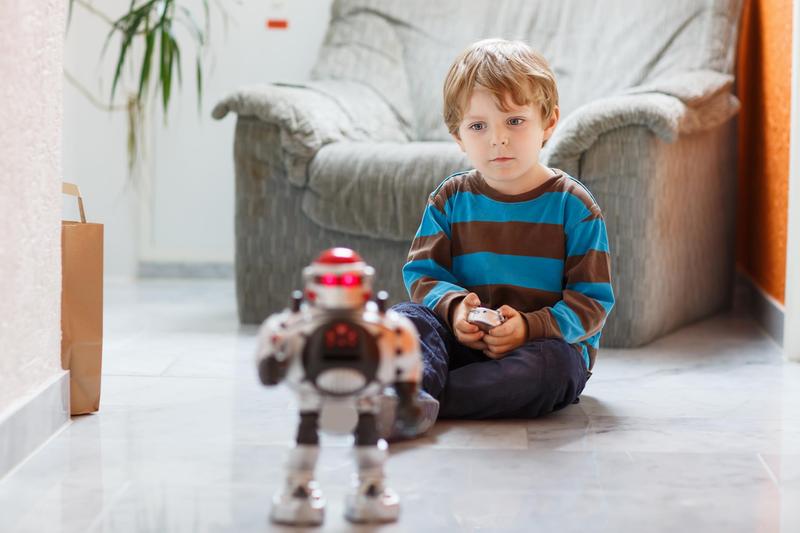 Игрушка робот — интерактивное развлечение для детей любых возрастов