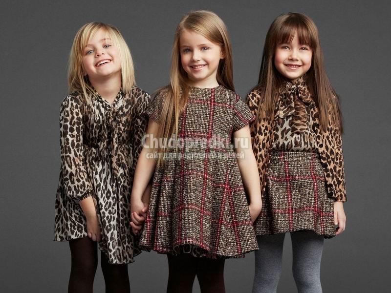 Детская одежда для девочек от Dolce&Gabbana