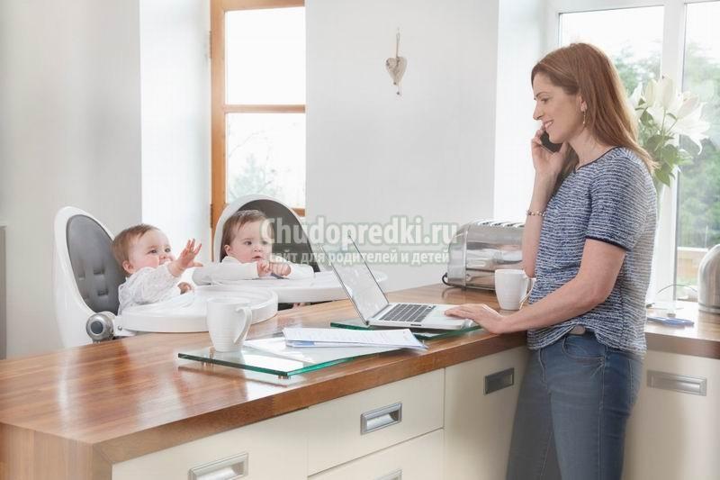 Лучшие вакансии для мам в декрете