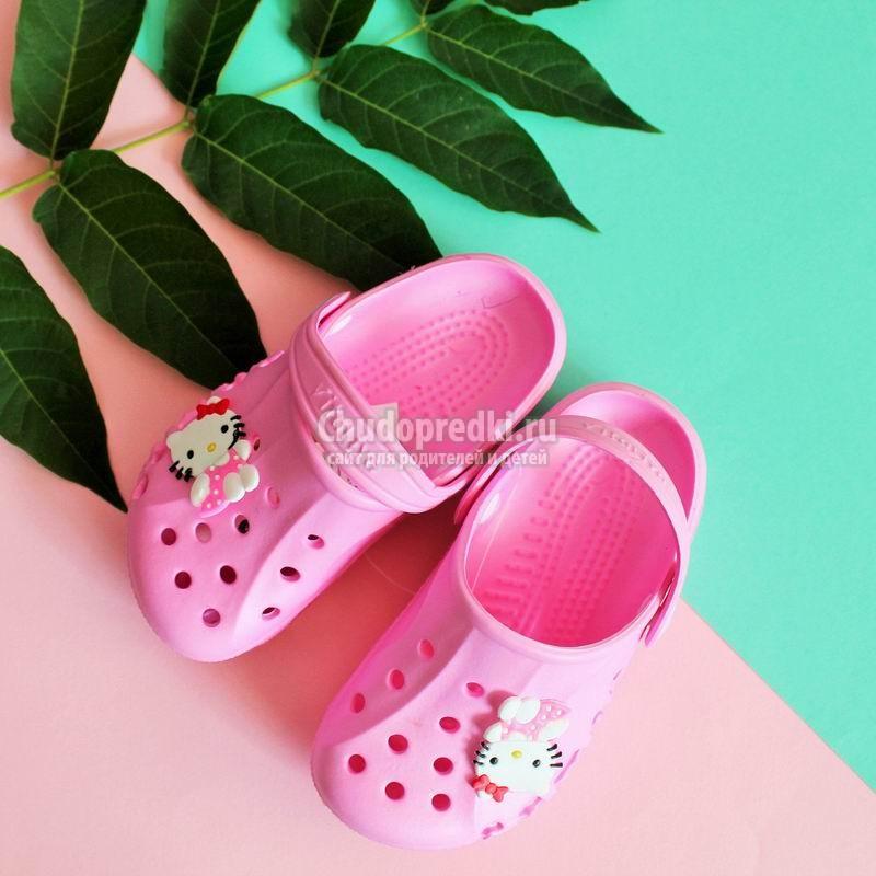 Детская пляжная обувь: популярные разновидности