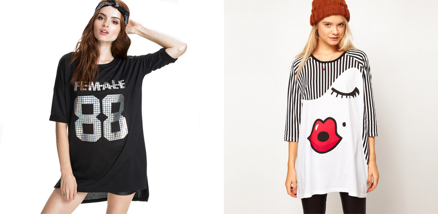Удлиненные футболки: из спортивной одежды в офисный и вечерний гардероб