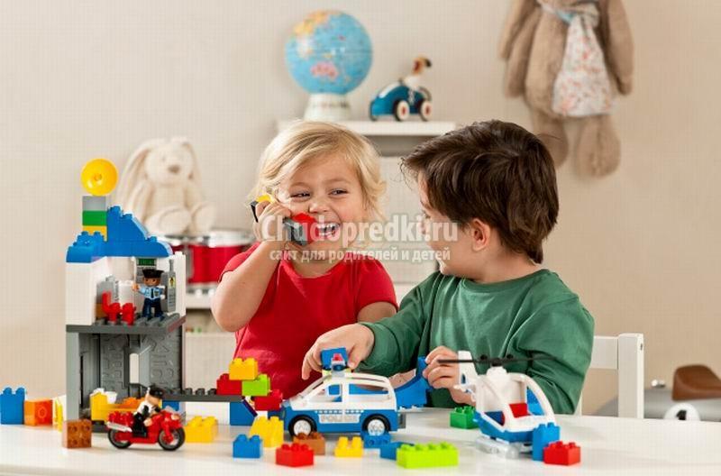 Детские игрушки конструкторы: выбираем правильно