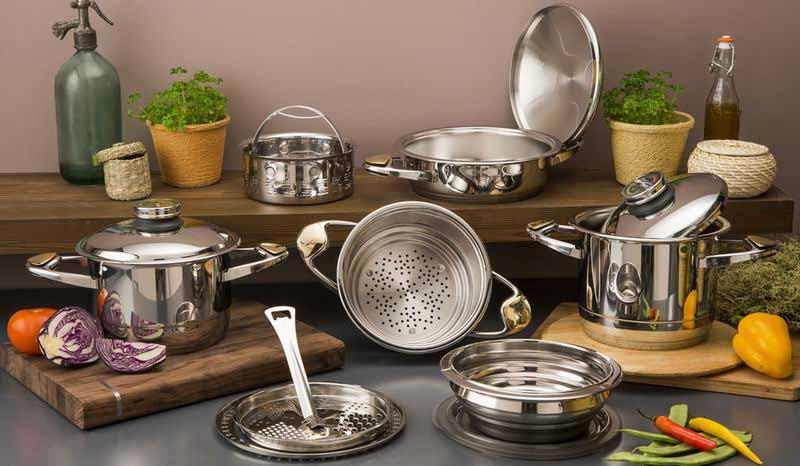 Какая посуда лучше из нержавеющей стали?