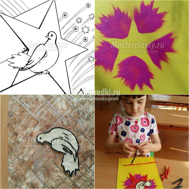 Интересные поделки к 9 мая в детский сад