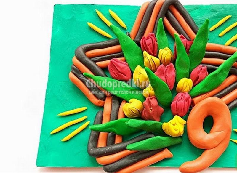 Интересные поделки к 9 мая в детский сад. ТОП - 50 идей с фото