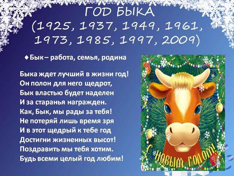 Лучшие КОРОТКИЕ Поздравления в год Быка. С новым Годом 2021 Стихи - поздравления. ТОП - 50