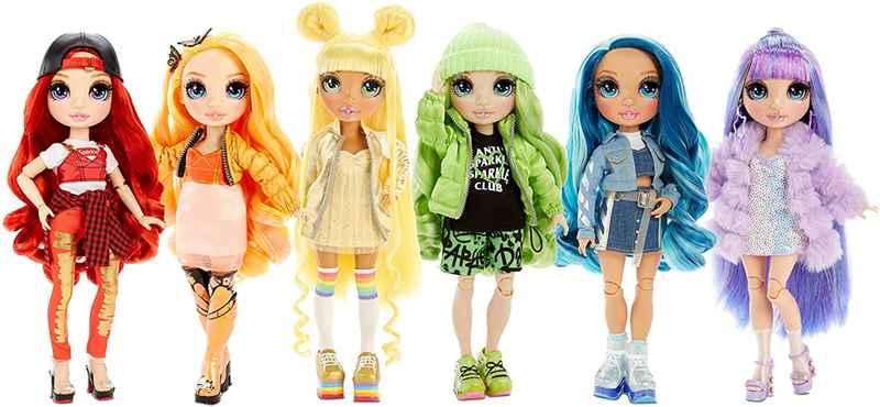 Новинка 2020 от MGA. Классные Радужные фэшн куклы Rainbow High Dolls с двумя аутфитами от MGA Entertainment
