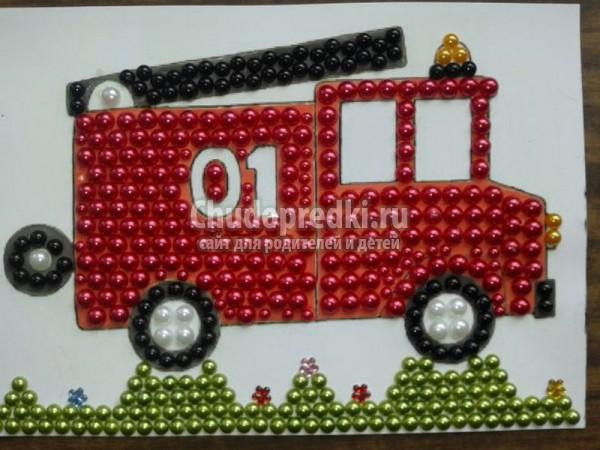 Идеи детских поделок на тему пожарной безопасности в детский сад, школу своими руками