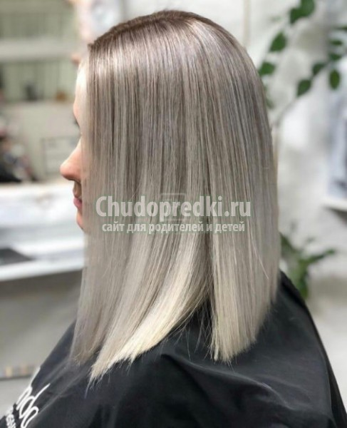 Модный вид окрашивания волос – аиртач (airtouch)