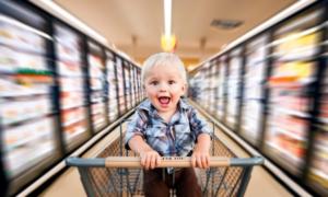 Как шопинг с малышом стать приятным делом