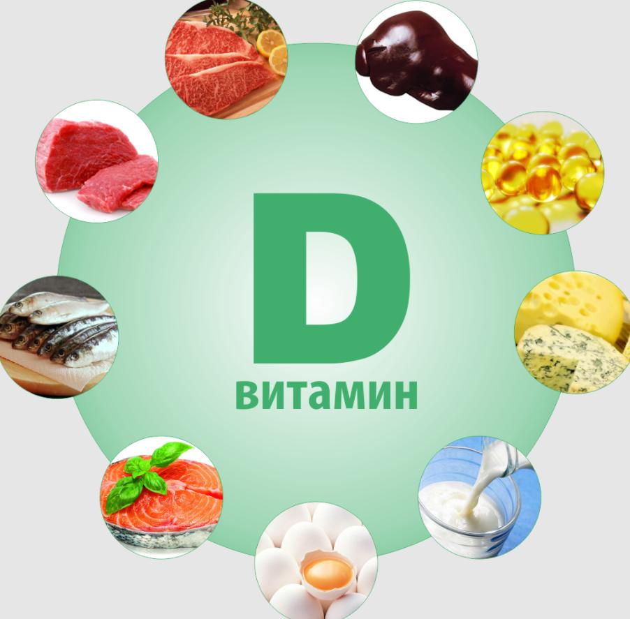 дифицит витамина д у детей