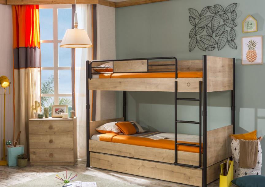 Выбор и виды двухъярусных кроватей